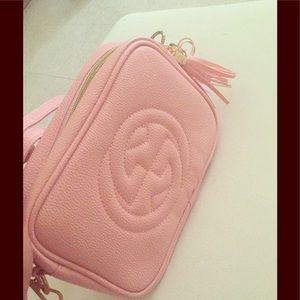 Blush colored Gucci purse